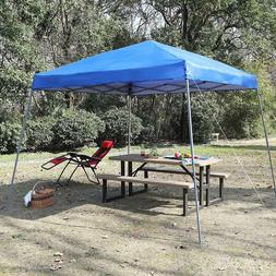 PHI VILLA 12' x 12' Slant Leg Pop-up Canopy Gazebo Folding W