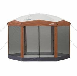12 x10ft Hex Instant Screened Canopy/Gazebo Camp Tent Hiking