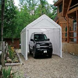 12x20 ft Outdoor Portable Shelter Garage Carport Canopy Stee