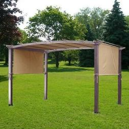 17x6.5Ft Pergola Canopy Replacement Cover Outdoor Yard Patio
