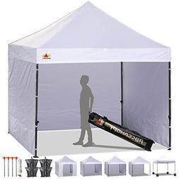 ABCCANOPY 8'x 8' Ez Pop-up Canopy Tent Commercial Instant Te