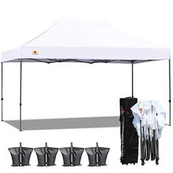 ABCCANOPY (18+ colors) 10x15 Pop up Tent Instant Canopy