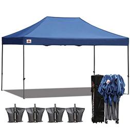 (18+ colors)AbcCanopy 10x15 Pop up Tent Instant Canopy C