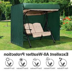 2-Seater Patio Swing Cover Waterproof Cover for Patio Swing