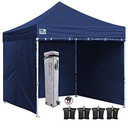 Eurmax 10x10 Ft Easy Pop-up Canopy Commercial Instant Party