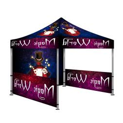 10'X10' Custom Pop-Up Canopy Outdoor Commercial Tent Instant