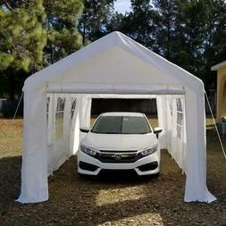 Quictent® 20'x10' Heavy Duty Garage Carport Car Shelter Can
