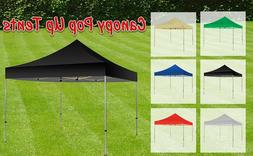 20'X10' Pop-Up Canopy, Outdoor Patio Commercial Tent Folding