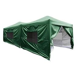 Quictent 2018 Upgraded Privacy 10x20 EZ Pop Up Canopy Tent I