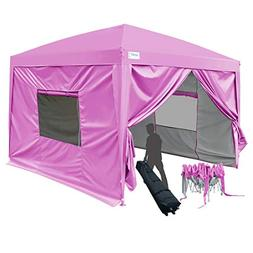Quictent Privacy 10x10 EZ Pop Up Canopy Party Tent Folding G