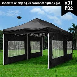 10x20ft outdoor ez pop up canopy instant