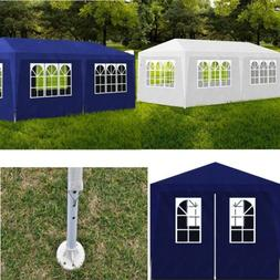 20x10 Wedding Party Tent Outdoor 6 Side Wall Removable Shade