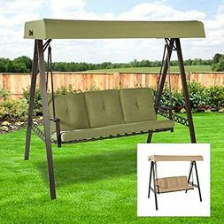 3 seater a frame swing replacement canopy