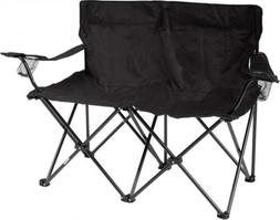 """Trademark Innovations 31.5"""" H Loveseat Style Double Camp Cha"""