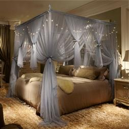 4 Corner Post Bed Canopy Bed Curtain Canopy Frame Canopies I