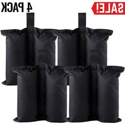 4 Pack Ez Pop Up Canopy Tent Weight Sand Bag Outdoor Patio S