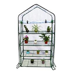 Abba Patio 4 Tier Mini Greenhouse Portable Lawn and Garden G