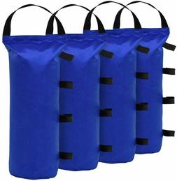 4pcs Monoshock Blue Sand Bag Weight Bag For Instant Canopy T