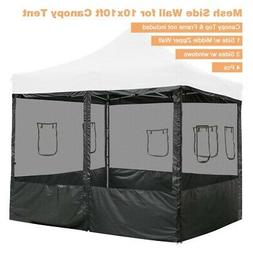 4pcs Pop Up Canopy Net Side Wall 10x10ft Tent Shelter Mosqui