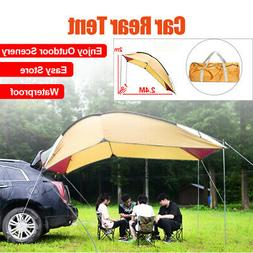 5-8 Men Car Tent Awning Rooftop SUV Truck Camping Travel She