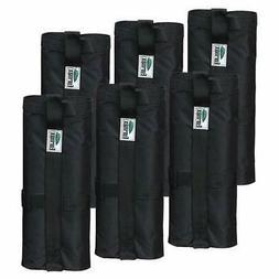 6pc-pack Sand Weight Bags Leg,Rock Sand Dirt Filling  Ez Pop