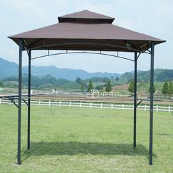 FDW 8'x 5'BBQ Grill Gazebo Barbecue Canopy BBQ Grill Tent w/