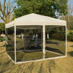VIVOHOME 8'x8'/10'x10' Instant Pop Up Canopy Gazebo Car Shel