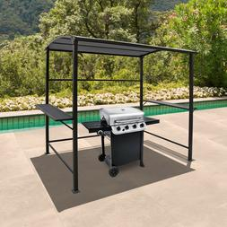 8ft BBQ Tent Canopy Grill Gazebo Awning Outdoor with Single-
