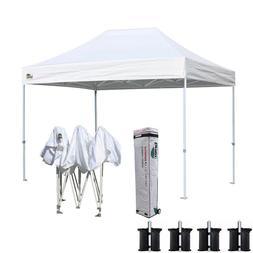8x12 Commercial Ez Pop Up Canopy Outdoor Instant Party Foldi