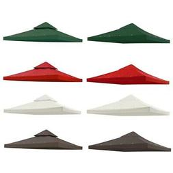 8x8' 10x10' 12x12' Gazebo Top Canopy Replacement UV30 Patio