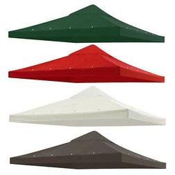 9.76'x9.76' Gazebo Top Canopy Replacement Patio Sunshade Cov