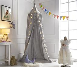 A LOVE BRAND 94.5×19.6 Inch Bed Canopy Cotton Mosquito N