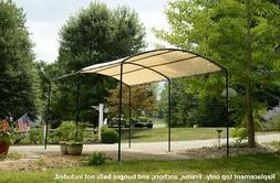 9x16 monarc canopy replacement top cover carport