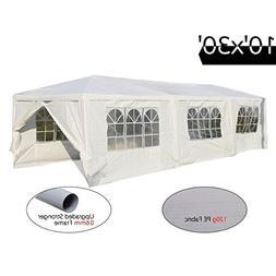 Peaktop 10'x30' Heavy Duty Outdoor Party Wedding Tent Canopy