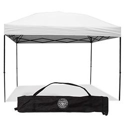 Pop Up Canopy Tent 10 x 10 Feet, White - UV Coated, Waterpro