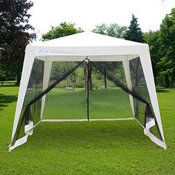 Quictent 10'x10'/7.9'x7.9' Outdoor Trapezoid Canopy Party Te