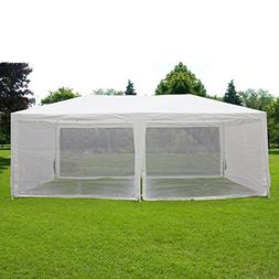 Quictent 10'x20' Outdoor Canopy Gazebo Party Wedding Tent Sc