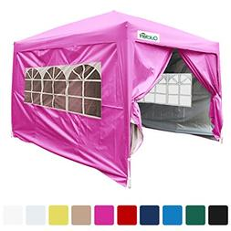 Quictent Silvox 8x8' EZ Pop Up Canopy Gazebo Party Tent with