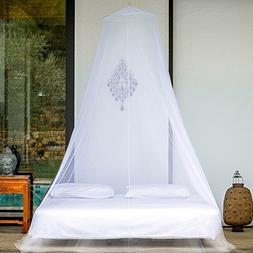 SALE 38% OFF - EVEN Naturals Mosquito Net Double Bed Conical