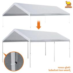 Strong Camel 10'x20' Carport Replacement Canopy Cover for Te