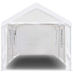 Tangkula 10' x 20' Carport Canopy Tent Outdoor Garden Ga