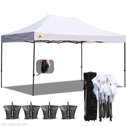 ABCCANOPY A4 10x15 Ez Pop Up Canopy Instant Shelter Outdor P