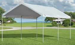 Accelaframe 10x20 Canopy, White 5 oz. Fabric, 1 3/8 Frame