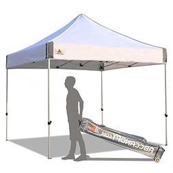 ABCCANOPY Aluminum Canopy Tent 10x10 Deluxe Pop up Instant S