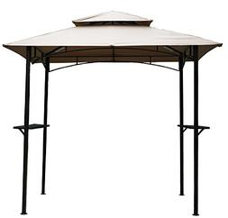 Kozyard Andra 8'X5' Soft Top Barbecue  Grill Canopy  with 4p