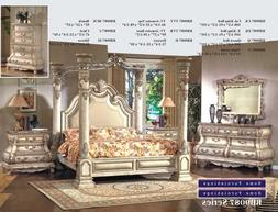 Inland Empire Furniture Arianna White Wash Eastern King Cano