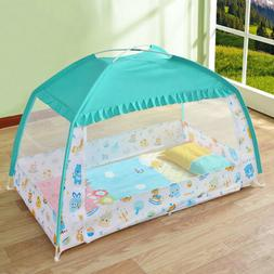 Baby Foldable Crib Canopy Infant Bed Mosquito Net Nursery Pl