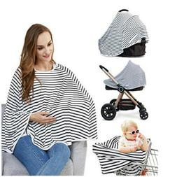Baby Nursing Cover&Poncho For Baby Car Seat Canopy/Shopping