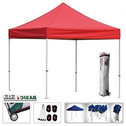 Eurmax Basic 10x10 Ez Pop up Canopy Instant Tent Outdoor Par