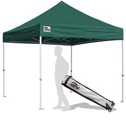 Eurmax Basic 10x10 EZ Pop Up Canopy Tent Entry Commercial Le